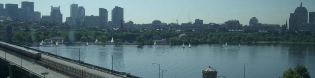 Charles River, Boston, July 2003