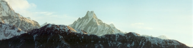 聖なる山、マチャプチャレ